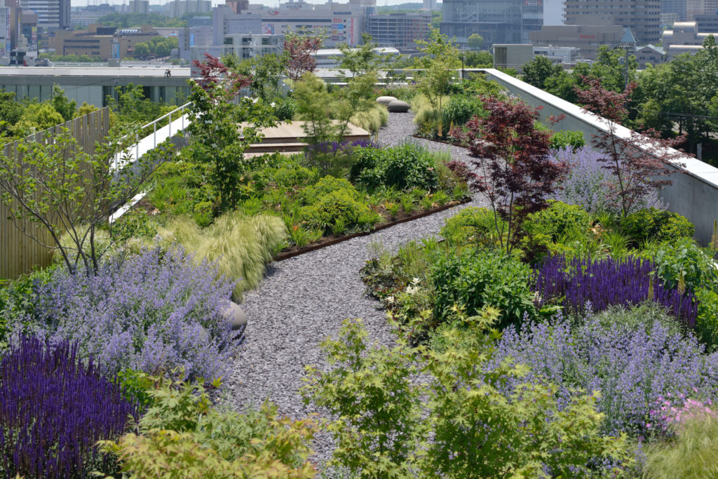 Superbe On 11th January 2018, The Rooftop Garden At Green Wise Headquarters Became  The First Development Project In Japan To Be Certified By The US Based SITES ® ...